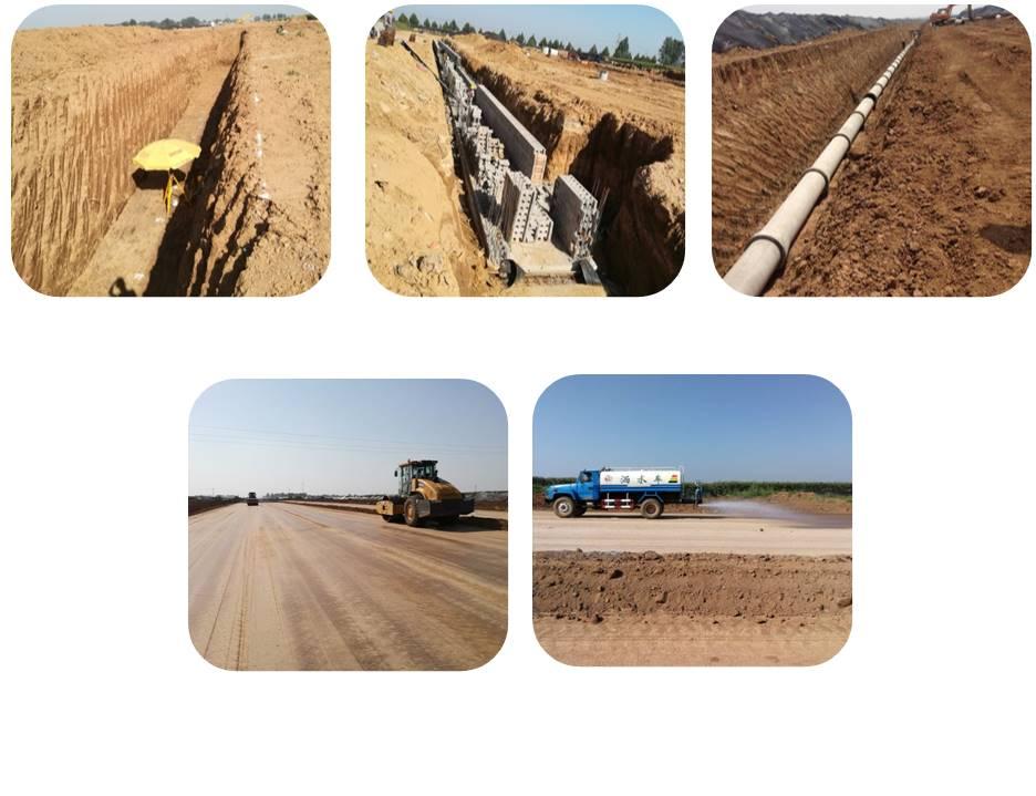 安阳县提质建设文昌大道东延(S301-G515)等五条道路建设项目施工1标段